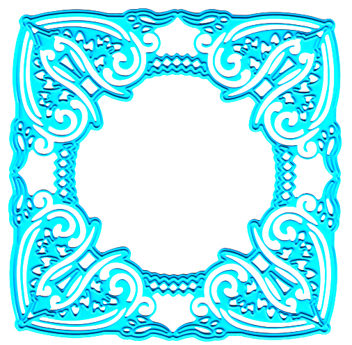 Joy! Crafts Cutting & Embossing Die - Square Frame