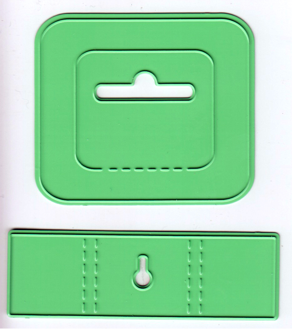 Joy! Crafts Cutting and Embossing Dies (2 pc) - hanging system