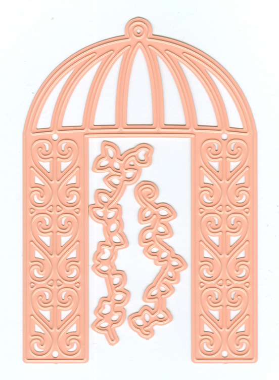 Joy! Crafts Cutting and Embossing Dies - pergola