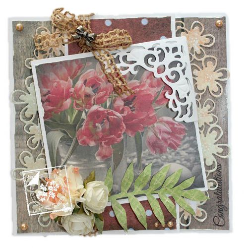Cutting and Embossing Die-Happy Border