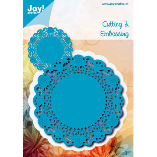 Joy Crafts cutting and Embosing Die -Doily Around