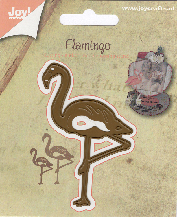 Joy! Crafts - Cut- Emboss & Deboss Die- Flamingo