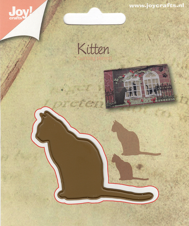 Joy! Crafts - Cutting Die- Kitten - Silhouette