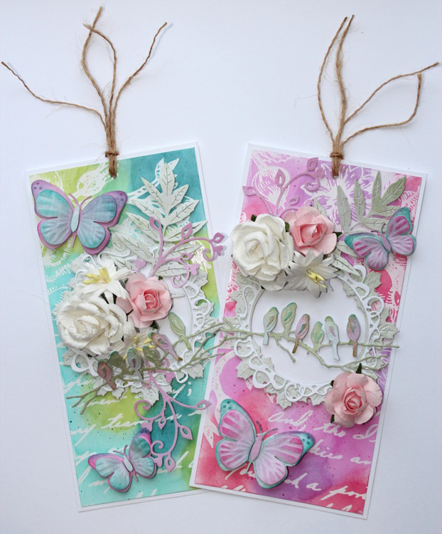 Joy! Crafts - 3D Dies Butterflies 2 Pc