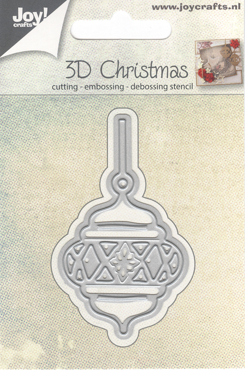 Joy Crafts Die - Christmas Bauble
