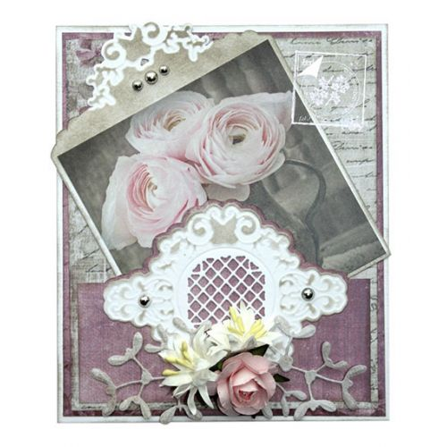 Joy Crafts Cut-Embos die - Corner endless