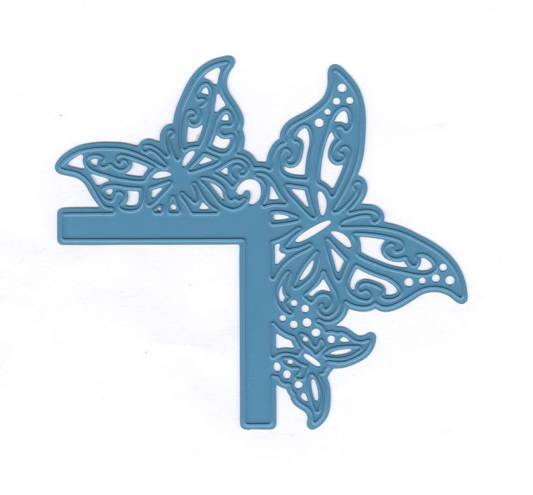 Joy Crafts Cut & Emboss Die-Butterfly Corner