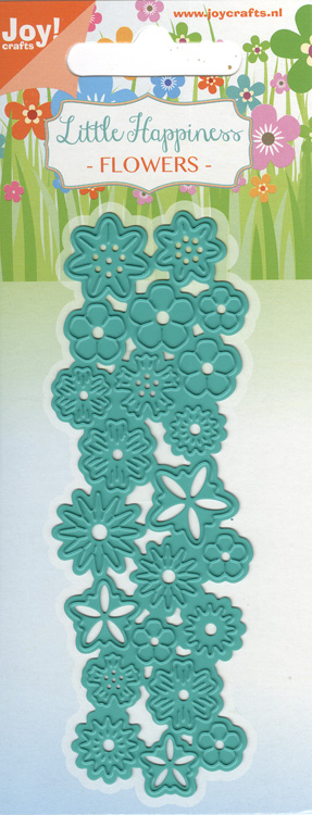 Joy Crafts Cut & Emboss Die - Little Happiness-Flowers