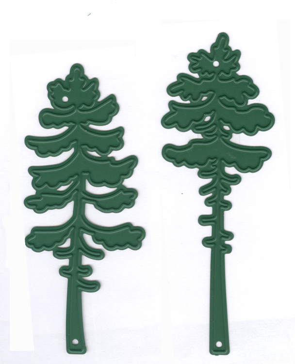 Ecstasy Crafts Joy! Crafts Die -Pine Trees