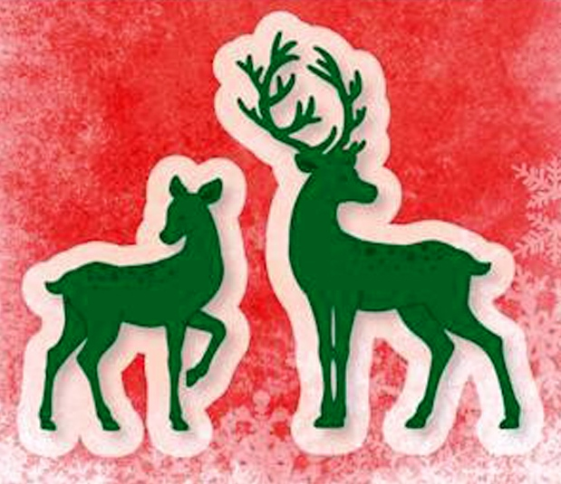 Cutting and Embossing die - Deer