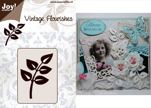 Vintage Flourish Dies - Branch Leaves