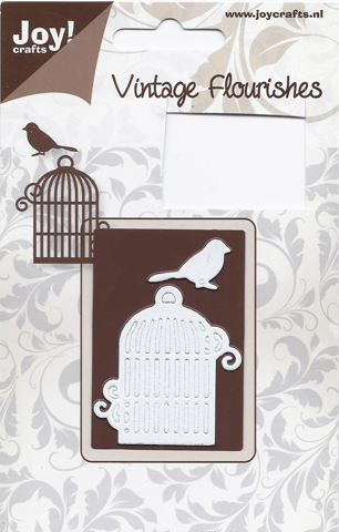 Joy! Crafts Vintage Flourish Dies - Bird Cage