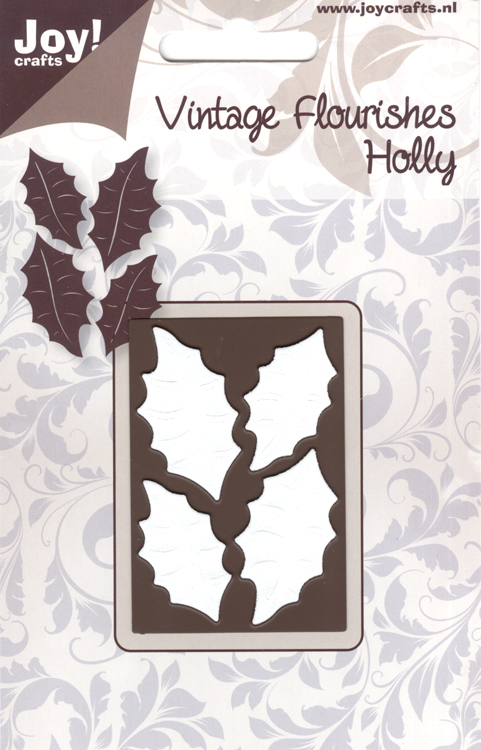 Joy! Crafts Vintage Holly Flourish