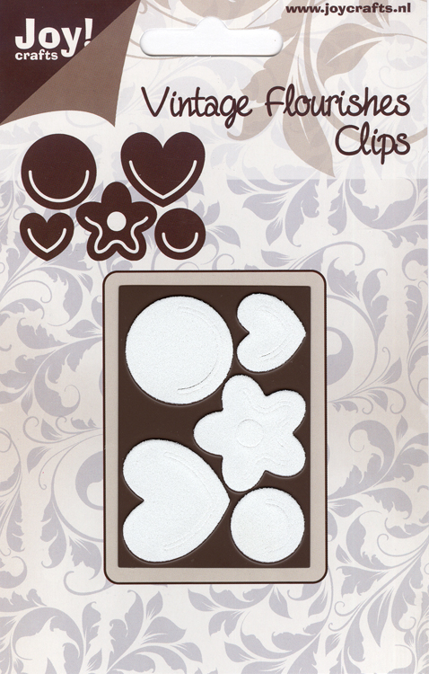 Joy Crafts Cutting die - Vintage flourishes clips