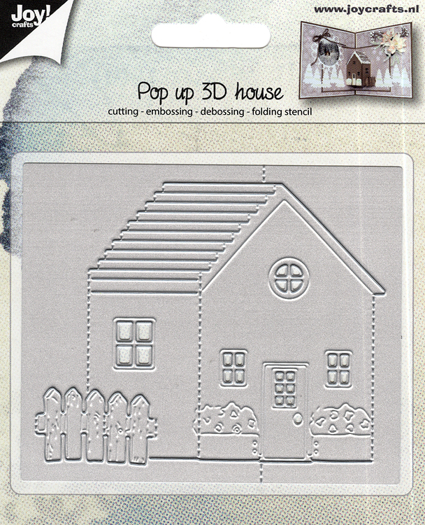 Ecstasy Crafts Joy! Craft Die - Pop-Up 3D House