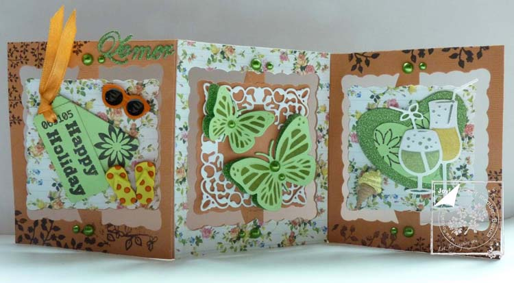 Ecstasy Crafts Joy! Crafts Die & Stamp - Butterflies