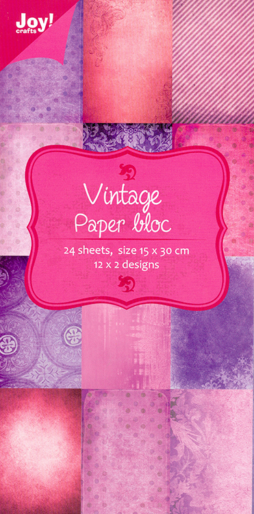 Paper Bloc - Vintage Pink and purple