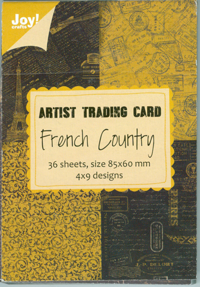 Artist Trading Card - French Country
