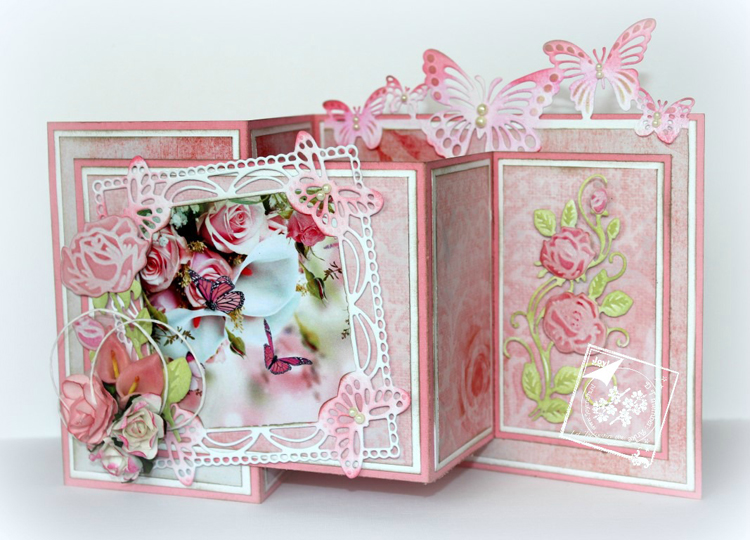 Joy Crafts - Paper package Roses