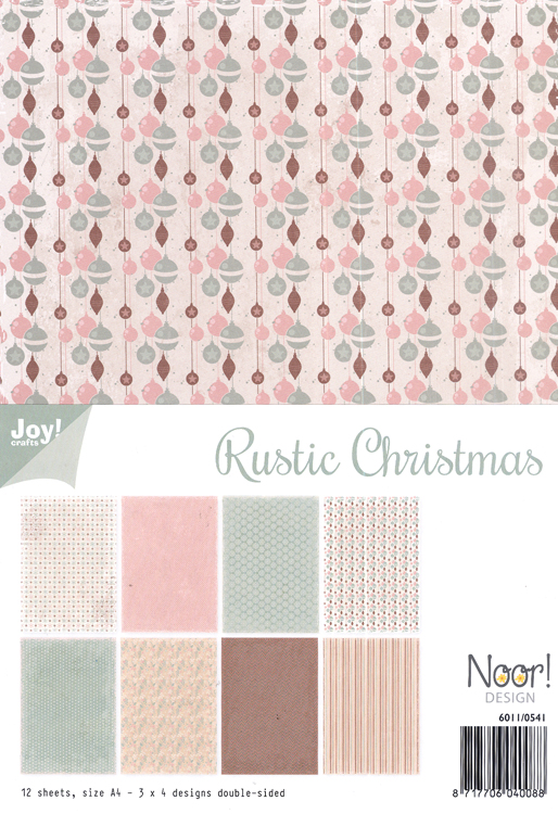 Ecstasy Crafts Joy! Craft Papers - Rustic Christmas