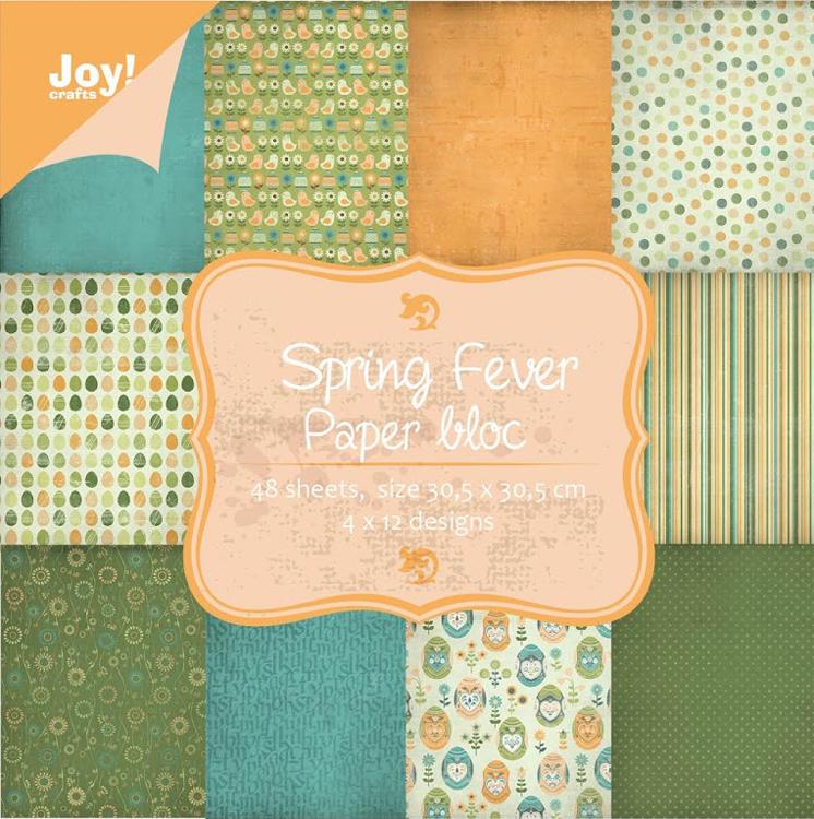 Ecstasy Crafts Paperbloc Spring Fever 12 X 12 Paper Pad