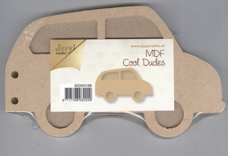 MDF Cool Dudes cars (5pc)