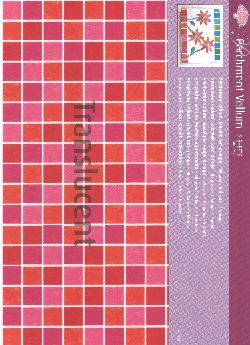 Vellum Mosaic Red/Orange (5 sheets)