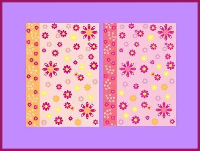 Vellum Flower Power Pink
