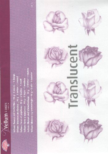 Vellum Roses Purple