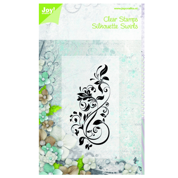 Joy! Crafts Clear Stamps - Swirl L