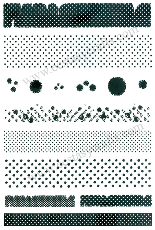 Stamp - grunch dots