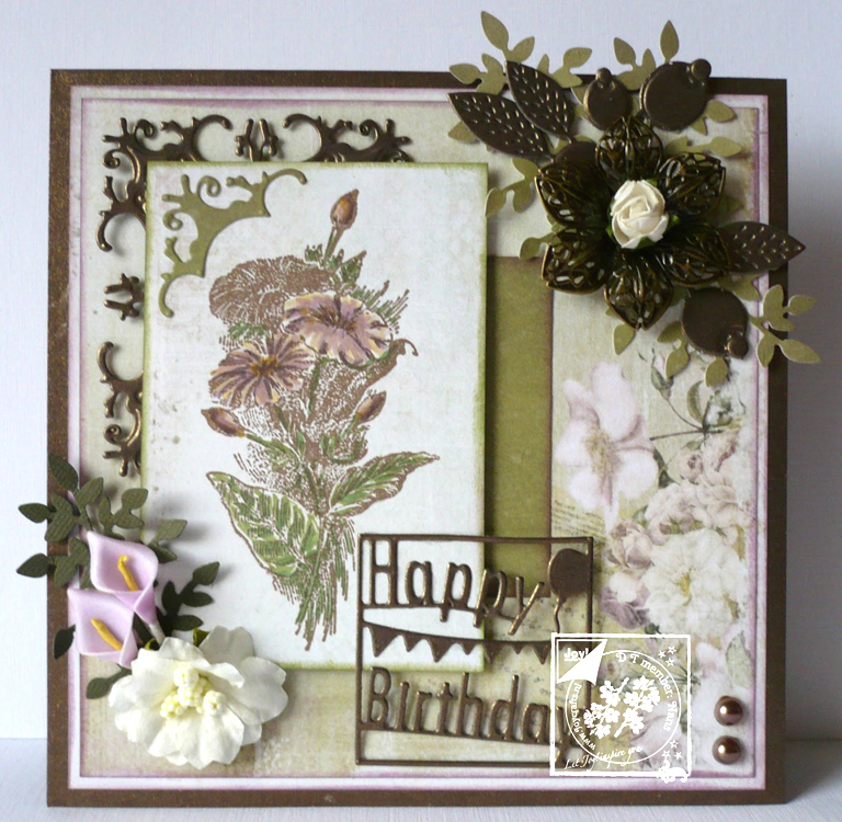Joy! Crafts -Petunia Stamp
