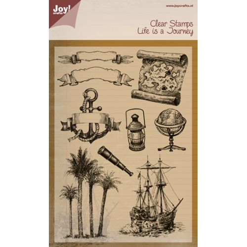 Clear Stamps-Life is a Journey