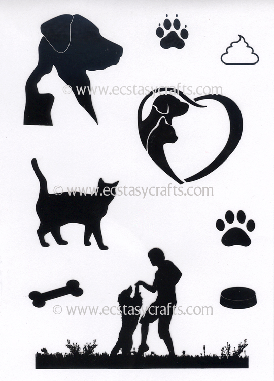 Joy! Crafts - Clearstamp - Dogs & Cats