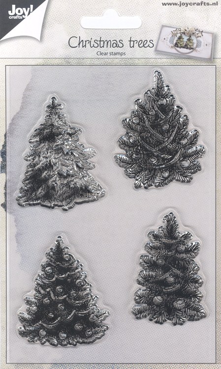 Joy Crafts Clear Stamp - Christmas tree