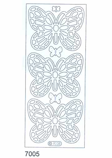 Deco Stickers - Large Butterflies