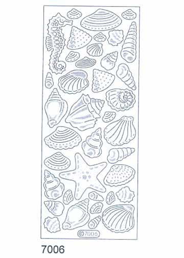 Deco Stickers - Sea Shells
