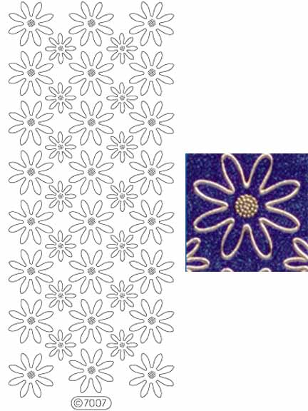 Deco Stickers - Daisies