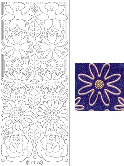 Deco Stickers - Flowers