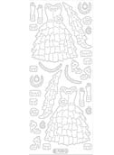 Deco Stickers - Ruffled Dresses