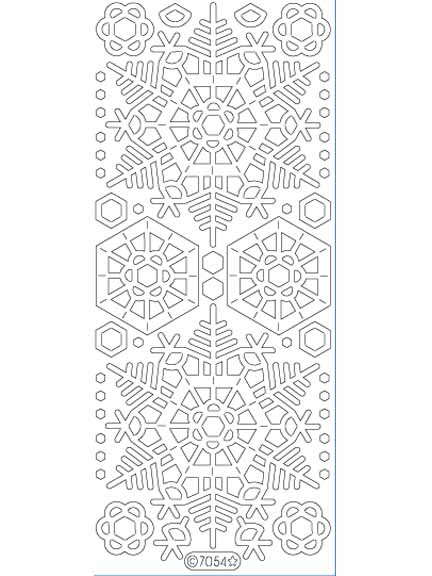 Deco Stickers - Large Snowflakes