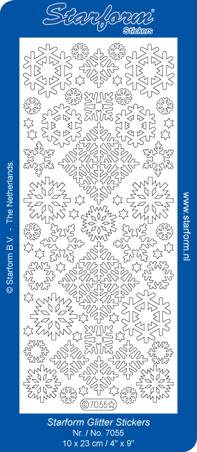 Deco Stickers - Snowflakes