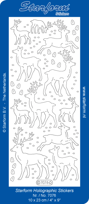Deco Stickers - Reindeer