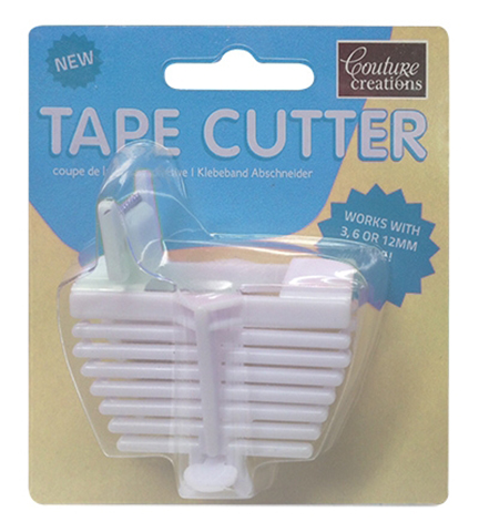 Couture Creations - Tape Cutter - White