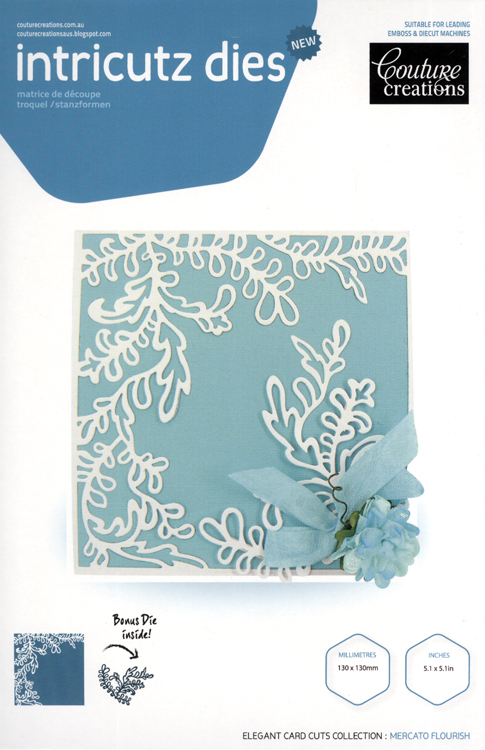 Couture Creations Die Cutting - Marcato Flourish