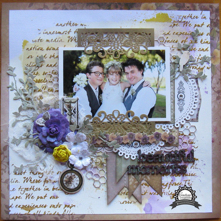 Couture Creations Die Cutting - Barossa Frame