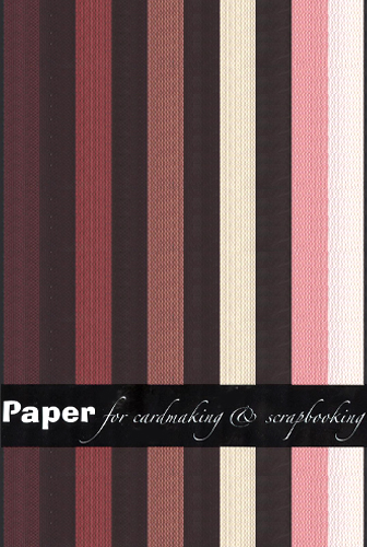 Joy Craft Paper - 10 sheet assorted colors weave pattern