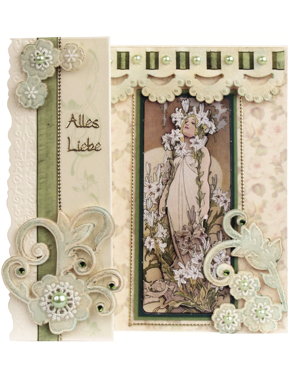 Card Kit - Romantic Cards Art Nouveau Kit