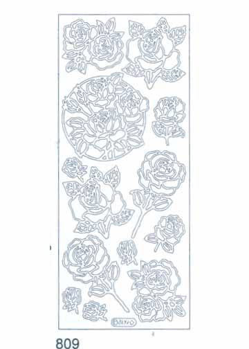 Deco Stickers - Roses