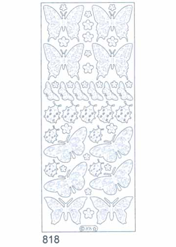 Deco Stickers - Butterflies/ Ladybugs